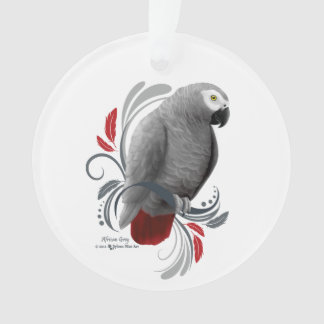 African Grey Ornament