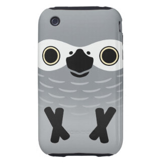 African Grey Parrot (Adult) iPhone 3 Tough Covers