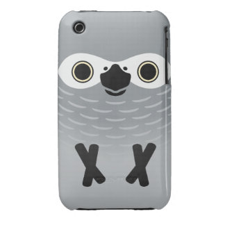 African Grey Parrot (Adult) iPhone 3 Cases