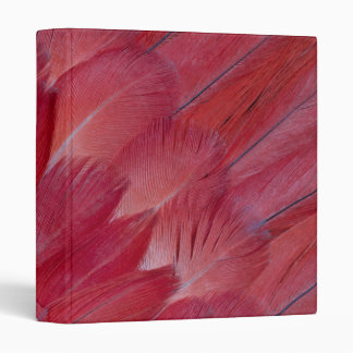 African Grey Parrot Feather Design Binder