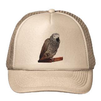 African Grey Parrot Trucker Hat