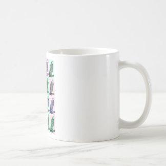 African Grey Parrot Pop Art Coffee Mug