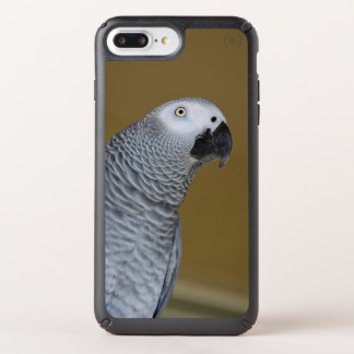 African Grey Parrot Profile Speck iPhone Case