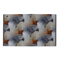 African Grey Pattern iPad Case