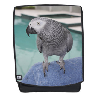 African Grey Pool Party Backpack