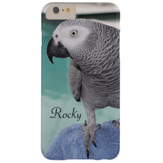 African Grey Pool Party Barely There iPhone 6 Plus Case