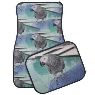 African Grey Pool Party Car Floor Mat