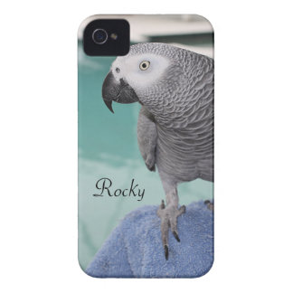 African Grey Pool Party iPhone 4 Case-Mate Case