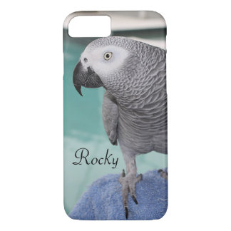 African Grey Pool Party iPhone 7 Case