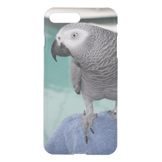 African Grey Pool Party iPhone 7 Plus Case