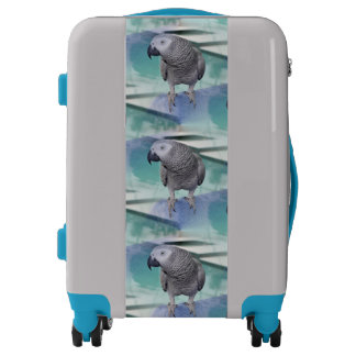 African Grey Pool Party Luggage