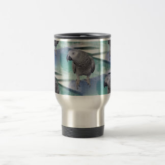 African Grey Pool Party Coffee Mug