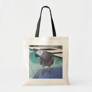 African Grey Pool Party Tote Bag