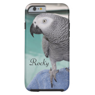 African Grey Pool Party Tough iPhone 6 Case