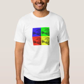 African Grey Pop Art T-Shirt