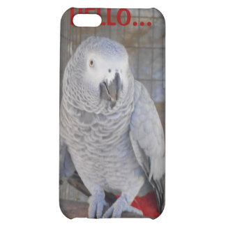 """African Grey """"Rudy"""" iPhone 5C Cases"""