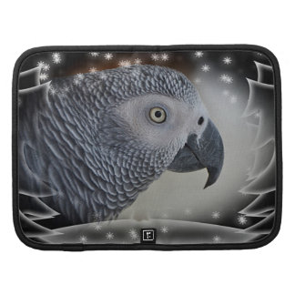 African Grey Snowy Christmas Planners