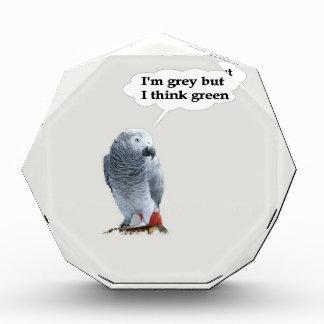 African Grey Thinks Green Award