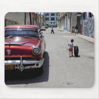 African Hamel district, Havana, Cuba, UNESCO Mouse Pad