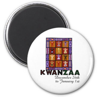 African Heritage 2 Inch Round Magnet