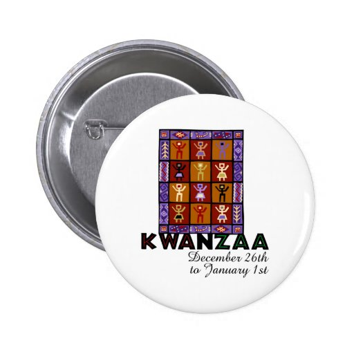 African Heritage Pinback Buttons