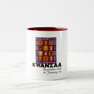 African Heritage Two-Tone Coffee Mug