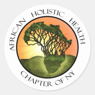African Holistic Health Merchandise Classic Round Sticker
