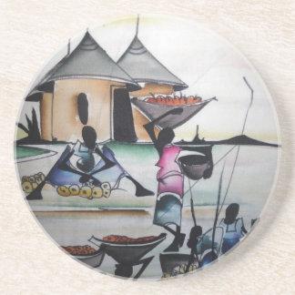 African Home Interior Decor Coaster 3