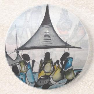 African Home Interior Decor Coaster 8