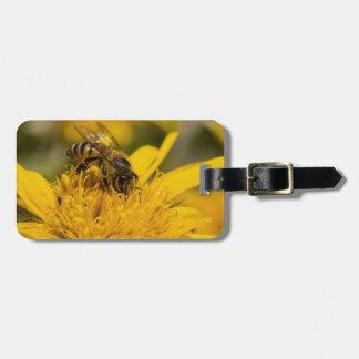 African Honey Bee With Pollen Sacs Feeding Bag Tag