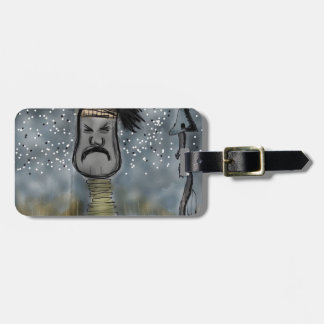 African hunter bag tag