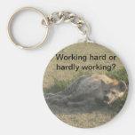 African Hyena Key Chain