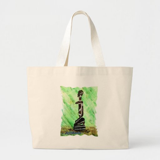 African icon: Dogon (Mali) Tote Bags