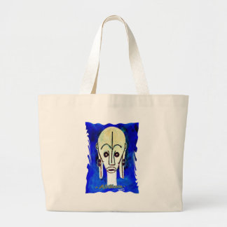 African icon: Fang mask (Gabon) Large Tote Bag