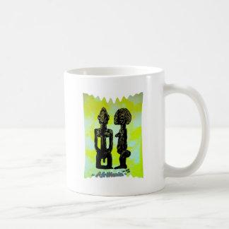 African icon: Ibeji - Twins (Yoruba - West Africa) Coffee Mug