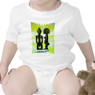 African icon Ibeji - Twins Yoruba - West Africa Tshirt