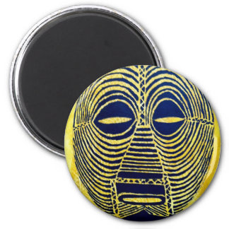 African icon: Luba mask (Congo) Refrigerator Magnet