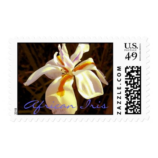 African Iris Postage Stamps