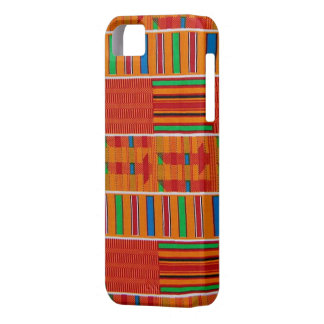 African Kente Cloth iPhone Case iPhone 5 Cases