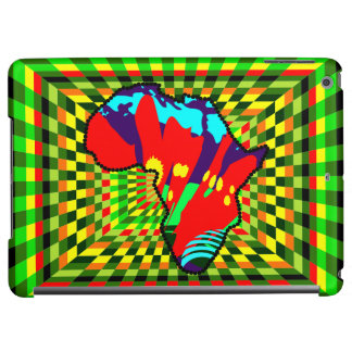 African Kente Cloth Tribal Pattern Colorful Case For iPad Air