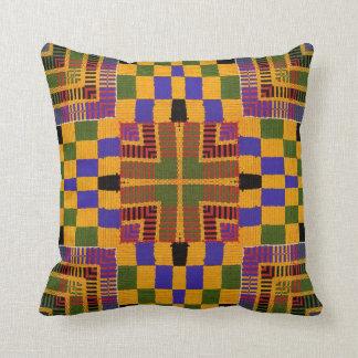 African Kente Print #10 Pillow