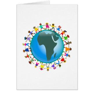 African Kids Card