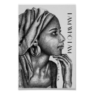 african lady poster