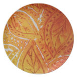 African Leaves Plate