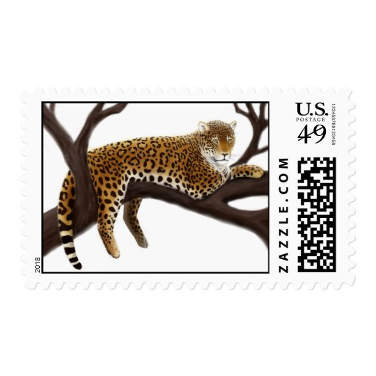 African Leopard Postage