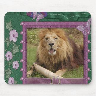 african-lion-00521 tapete de raton