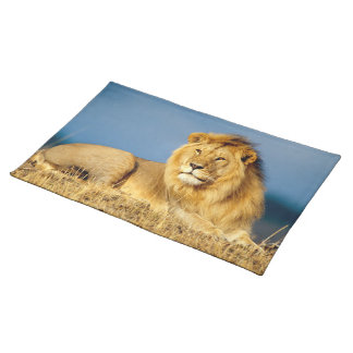 African Lion 2 Cloth Placemat