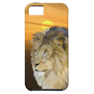 African Lion at Sunset iPhone SE/5/5s Case
