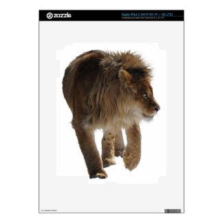 African Lion Big Cat Wildlife-lovers Art iPad 3 Decal
