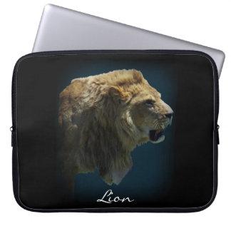 AFRICAN LION Big Five Cat Wildlife Laptop Sleeve